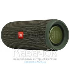 Портативная акустика JBL Flip 5 Eco Edition Green (JBLFLIP5ECOGRN)