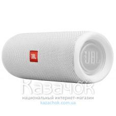 Портативная акустика JBL Flip 5 White (JBLFLIP5WHT)