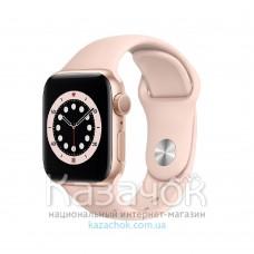Смарт-часы Apple Watch Series 6 44mm Pink Sand (M00E3)