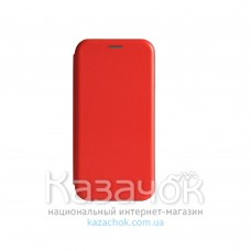 Чехол-книжка Premium Leather Case для Samsung A01/A015 2020 Red