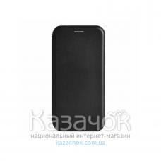 Чехол-книжка Premium Leather Case для Samsung A01/A015 2020 Black