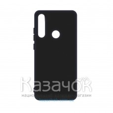 Силиконовая накладка SMTT- Soft Touch для Samsung A21s/A217 Black