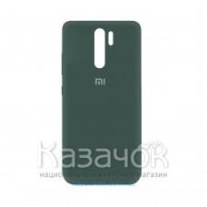 Силиконовая накладка Silicone Case для Xiaomi Redmi 9 Dark Green