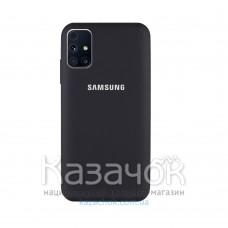 Силиконовая накладка Silicone Case для Samsung M31S 2020 M317 Black