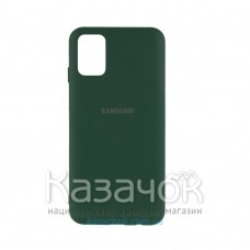 Силиконовая накладка Silicone Case для Samsung M31S 2020 M317 Dark Green