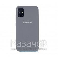 Силиконовая накладка Silicone Case для Samsung M31S 2020 M317 Grey