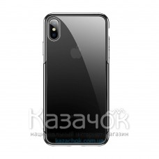 Чехол Baseus для iPhone XS Max Glitter Black (WIAPIPH65-DW01)