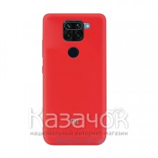 Силиконовая накладка Soft Silicone Case для Xiaomi Redmi Note 9 Pro/ Note 9 Red