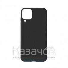 Силиконовая накладка Soft Silicone Case для Samsung A12 2021 Black