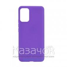 Силиконовая накладка Silicone Case для Xiaomi Poco M3 Purple