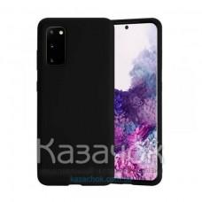Силиконовая накладка Aspor Silicone Full для Samsung Galaxy S20 FE 2020 G780F Black