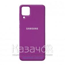 Силиконовая накладка Silicone Case для Samsung A22/A225 2021 Purple