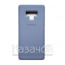 Силиконовая накладка Silicone Case для Samsung Note 9/N960 2019 Light Blue