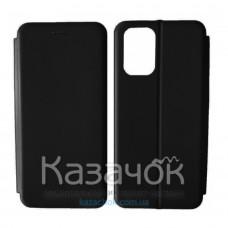 Чехол-книжка Black TPU Magnet для Xiaomi Redmi Note 10 Pro Black