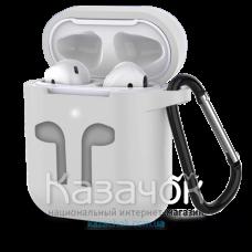 Чехол для наушников Apple AirPods/AirPods2 Transparent Matte