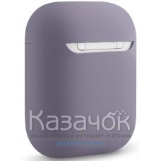 Чехол для наушников Apple AirPods/AirPods2 Ultra Slim Grey