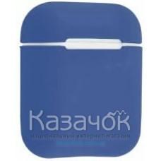 Чехол для наушников Apple AirPods/AirPods2 Ultra Slim Dark Blue