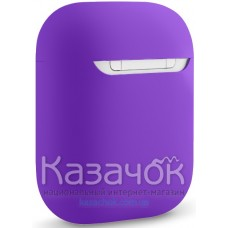 Чехол для наушников Apple AirPods/AirPods2 Ultra Slim Purple
