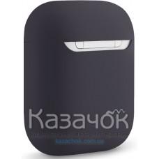 Чехол для наушников Apple AirPods/AirPods2 Ultra Slim Dark Grey