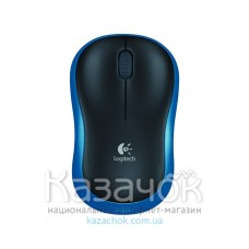 Мышь Logitech Wireless M185 Blue
