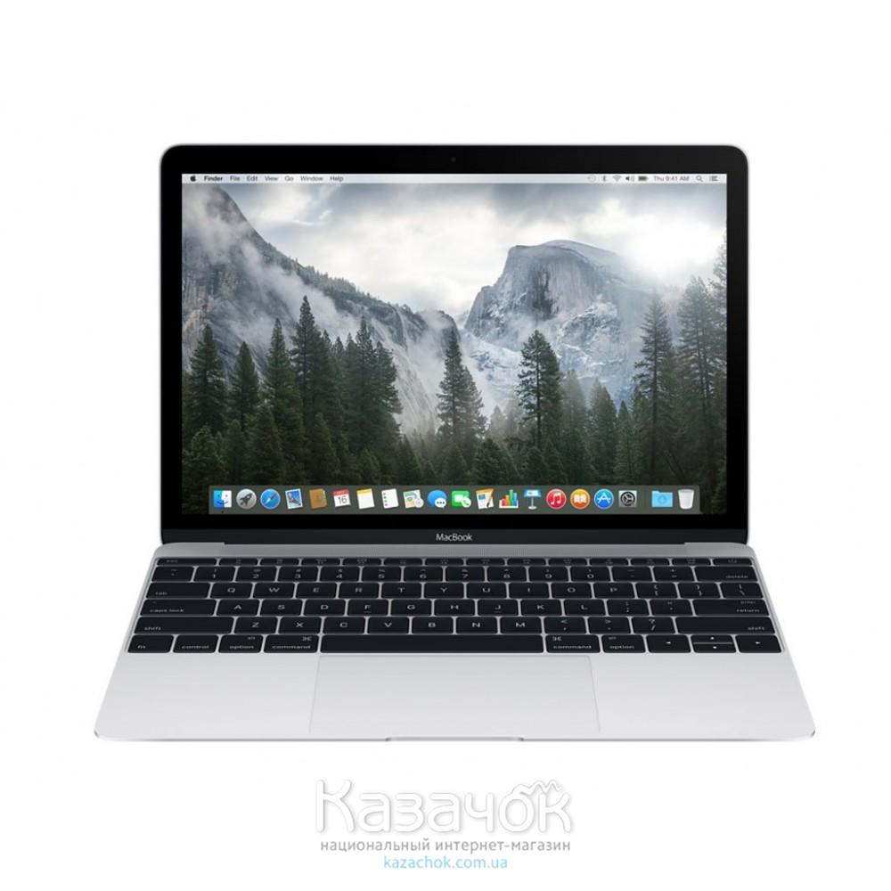 Ноутбук Apple A1534 MacBook 12 Silver MF865UA/A UA UCRF