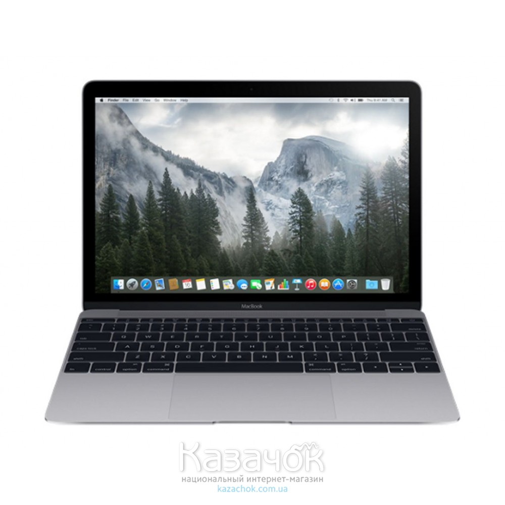 Ноутбук Apple A1534 MacBook 12 Space Gray MJY42UA/A UA UCRF