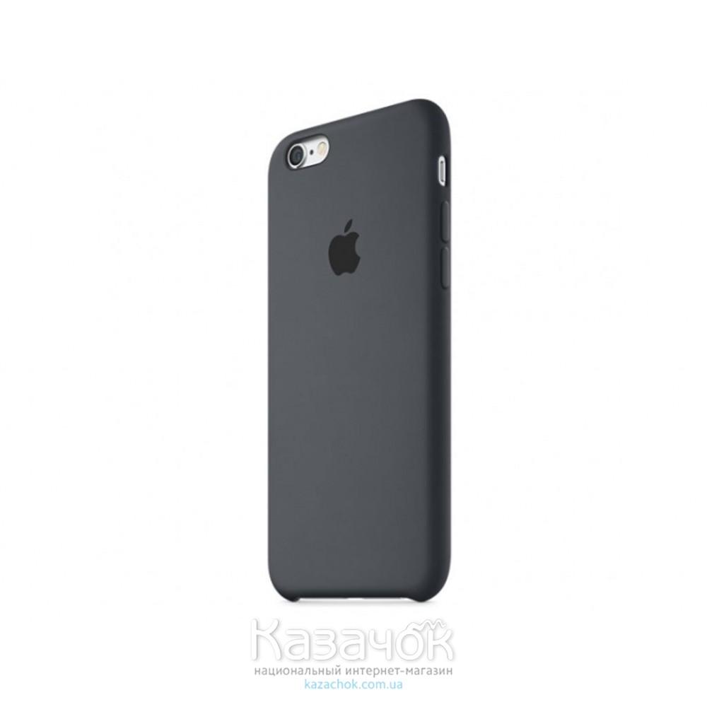 Чехол силиконовый для iPhone 6/6s Charcoal Gray (MKY02ZM/A)