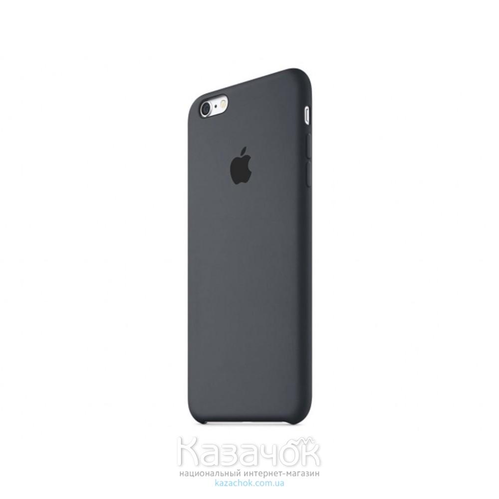 Чехол силиконовый для iPhone 6 Plus/6s Plus Charcoal Gray (MKXJ2ZM/A)