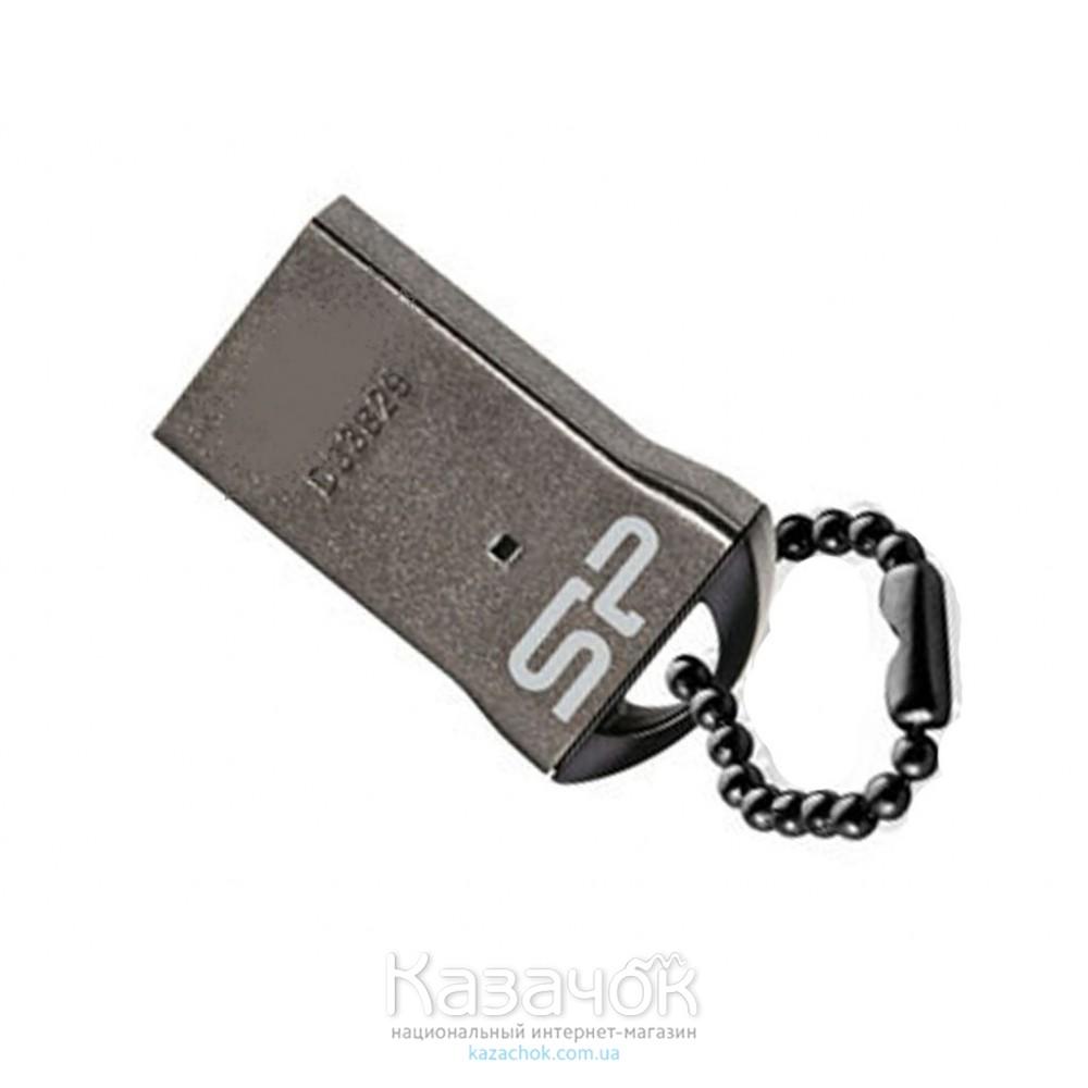 USB Накопитель 16Gb Silicon Power Touch T01 Black