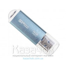 USB Накопитель 16Gb Silicon Power Marvel M01 USB 3.0 Blue