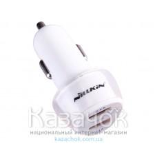 Автомобильное зарядное устройство Nillkin Jelly Car Charger 2.4 A White