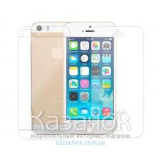 Защитная пленка iPhone 5/5S Front and Back Clear
