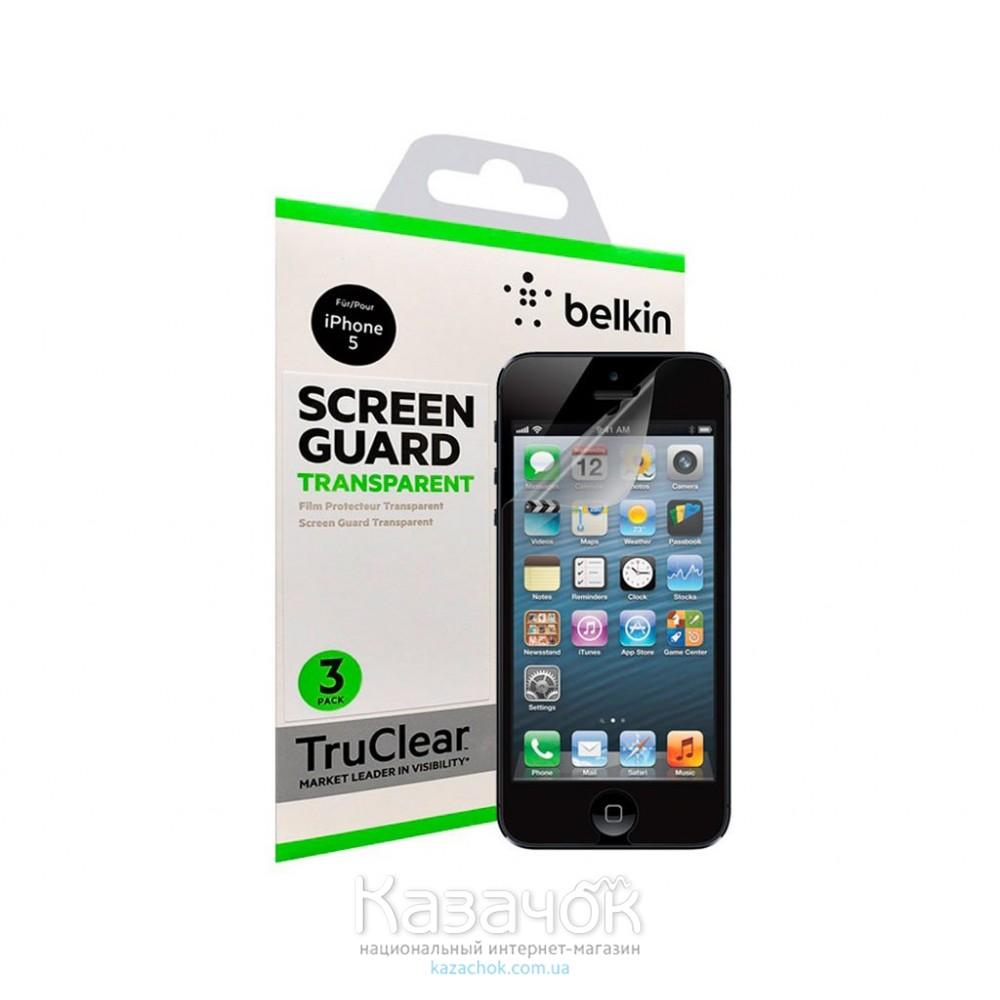 Защитная пленка Belkin iPhone 5/5S Clear