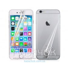 Защитная пленка iPhone 6/6S Front and Back Clear