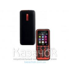 Силиконовая накладка Nokia 130 Black