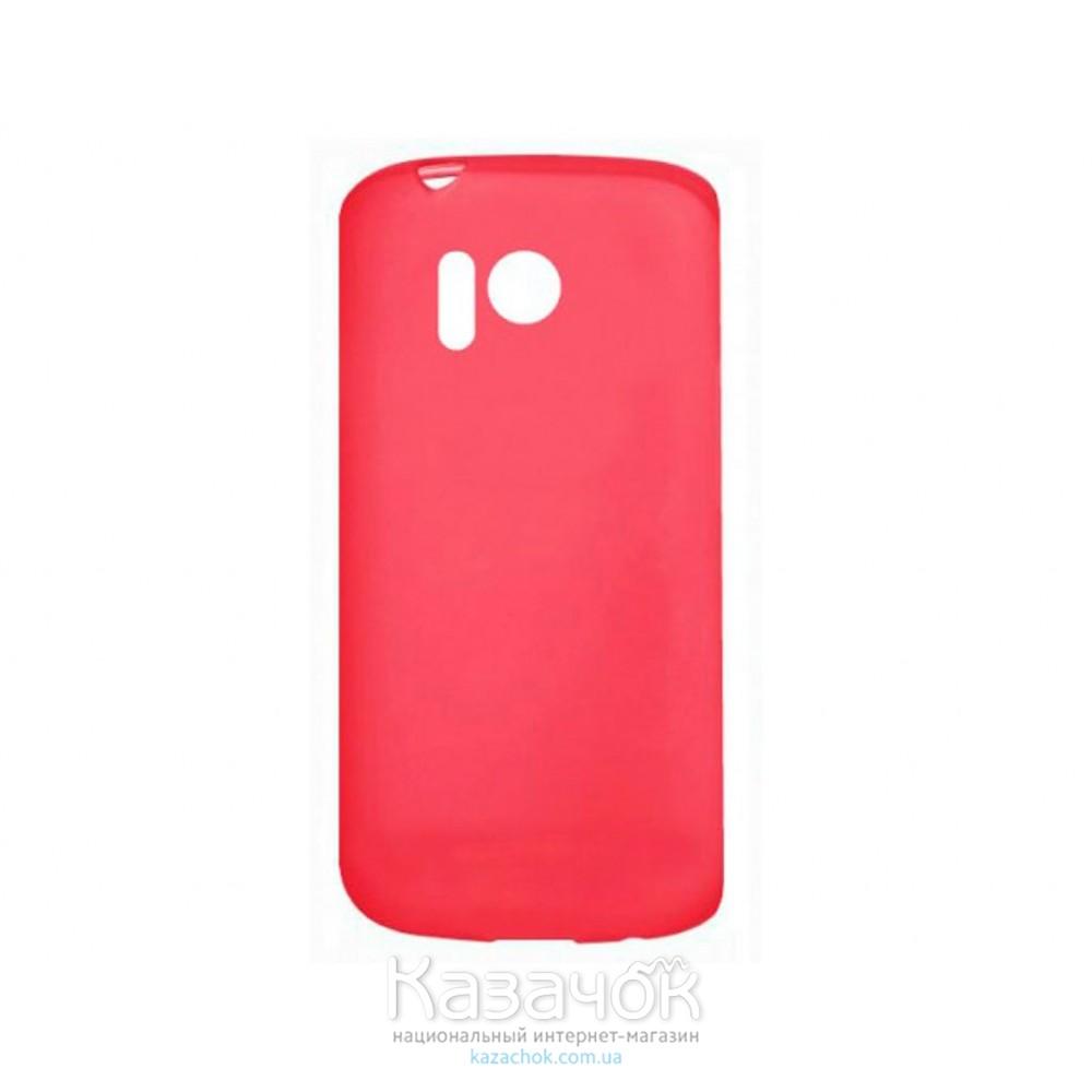 Силиконовая накладка Nokia 215 Red