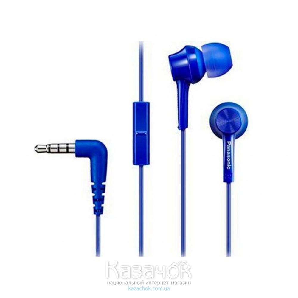 Наушники Panasonic RP-TCM105E-A Blue