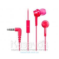 Наушники Panasonic RP-TCM105E-P Pink