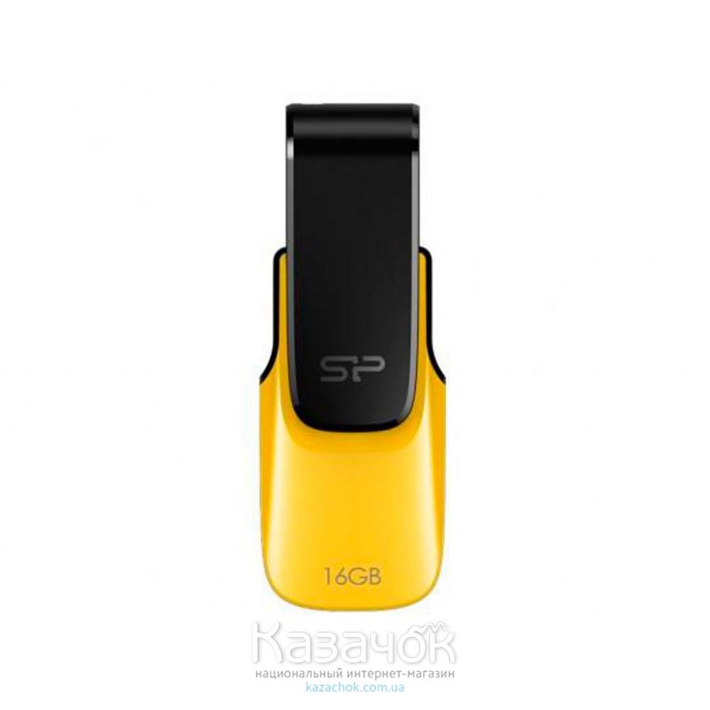 USB Flash 16Gb Silicon Power Ultima U31 Yellow