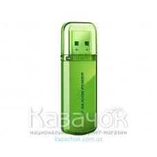 USB Flash 8Gb Silicon Power Helios 101 Green