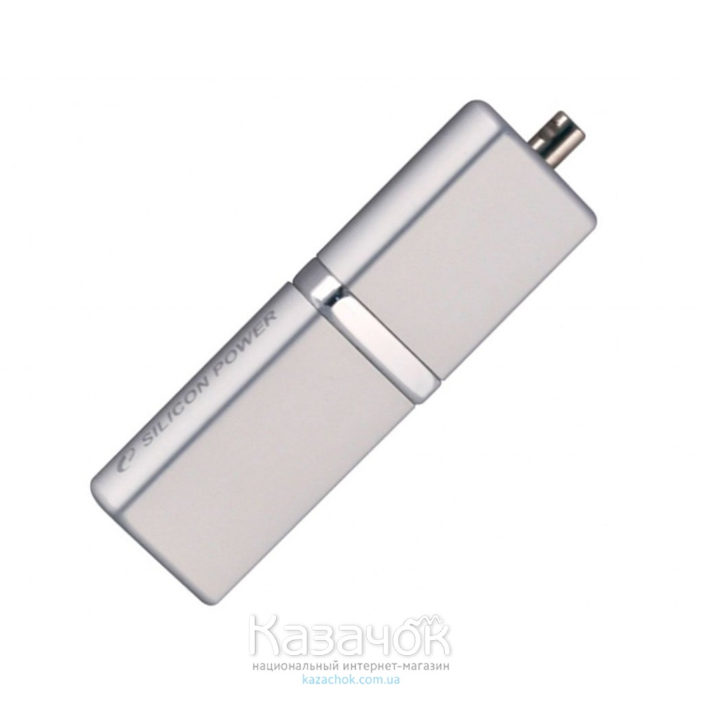 USB Flash 8Gb Silicon Power Lux mini 710 Silver