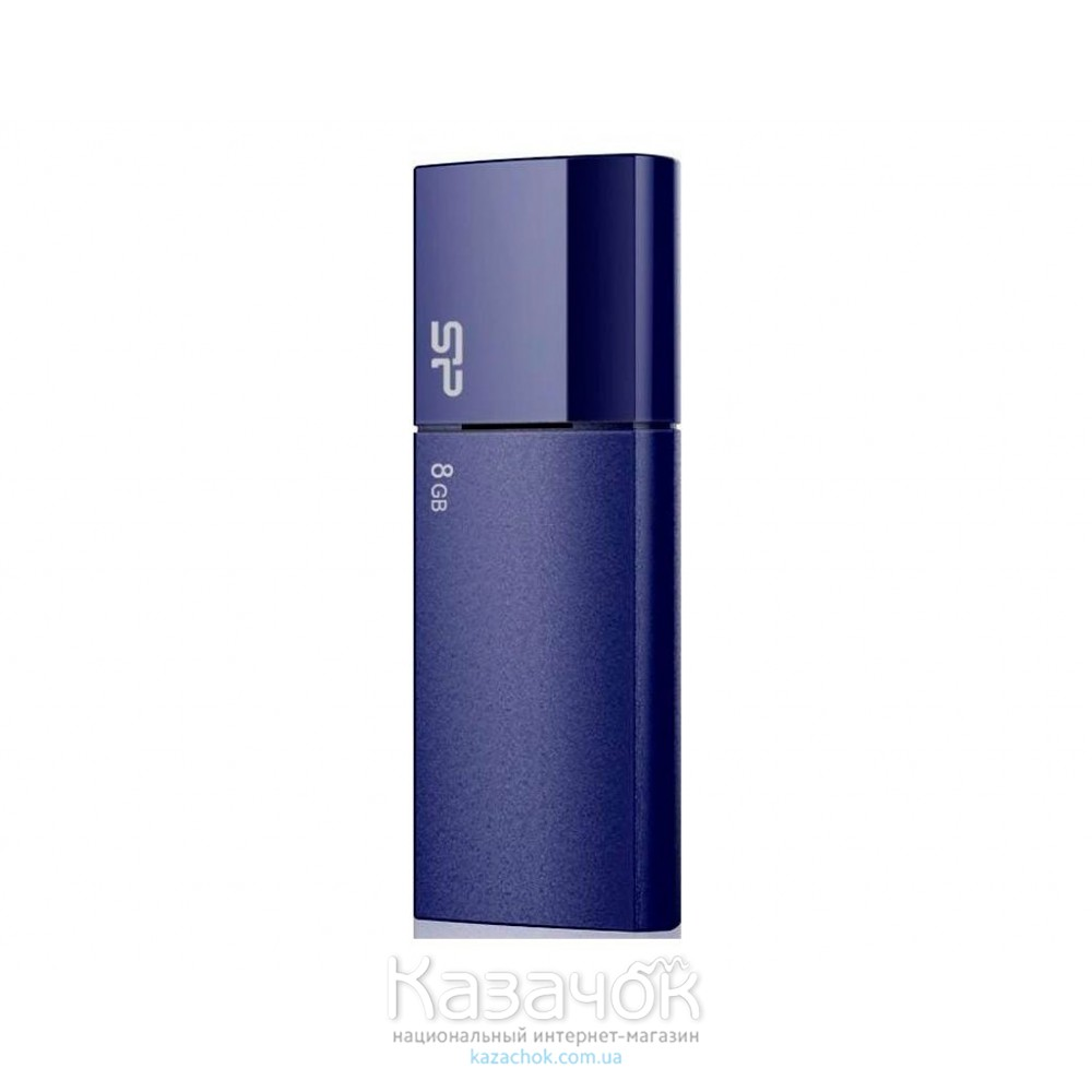 USB Flash 8Gb Silicon Power Ultima U05 Deep Blue