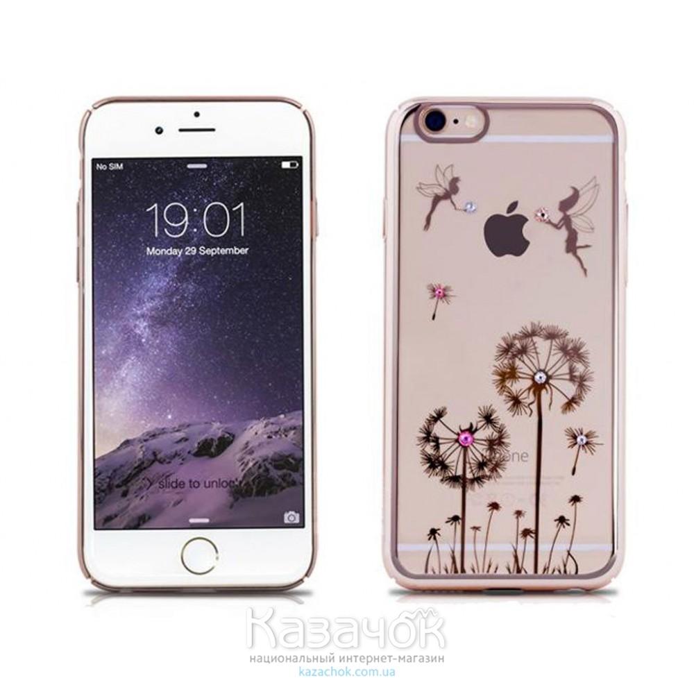 Пластиковая накладка iPhone 6/6S Remax Diamond Series Dandelion