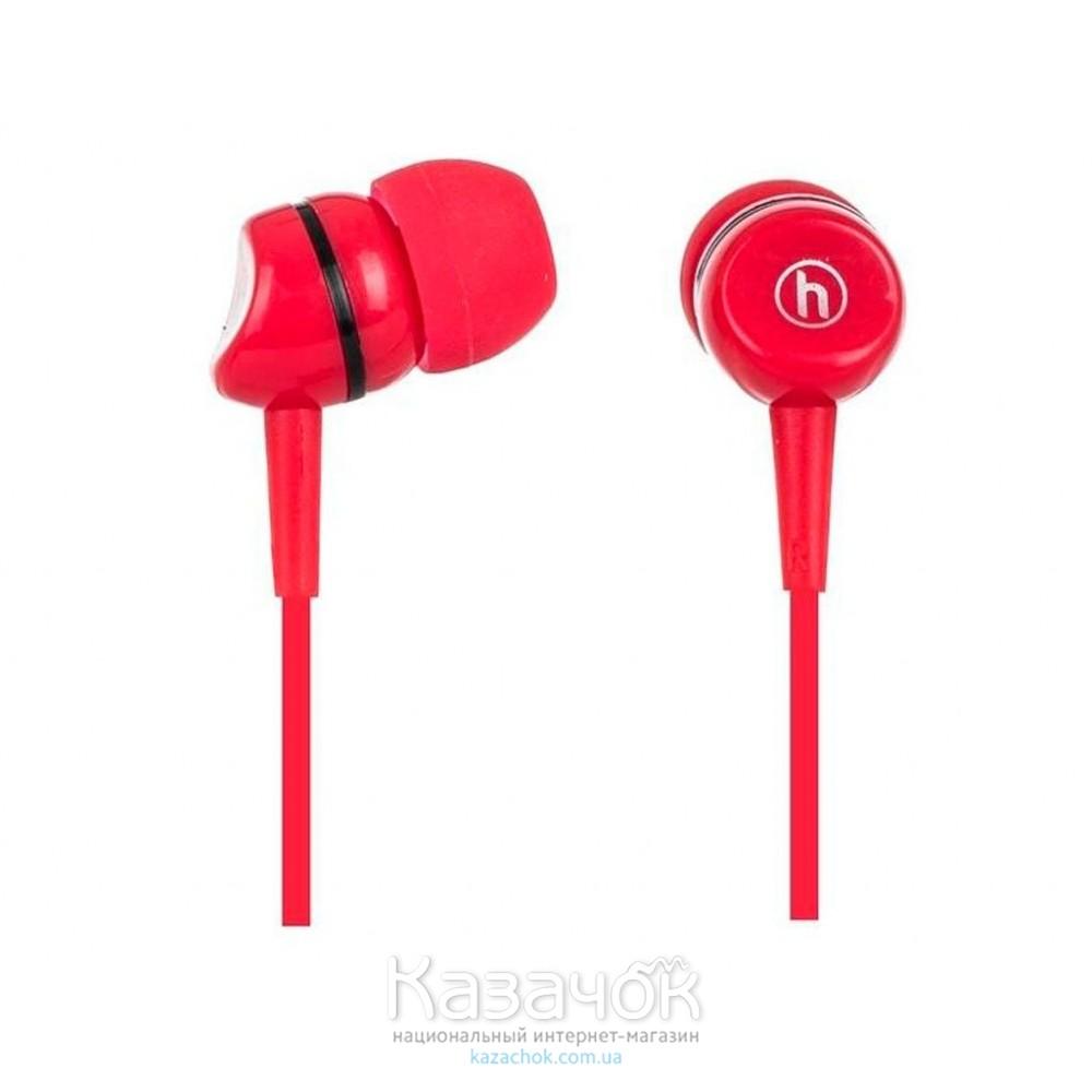 Наушники HAPOLLO EP-2020 Red