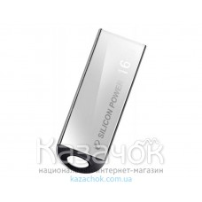 USB Flash 16Gb Silicon Power Touch 830 Silver