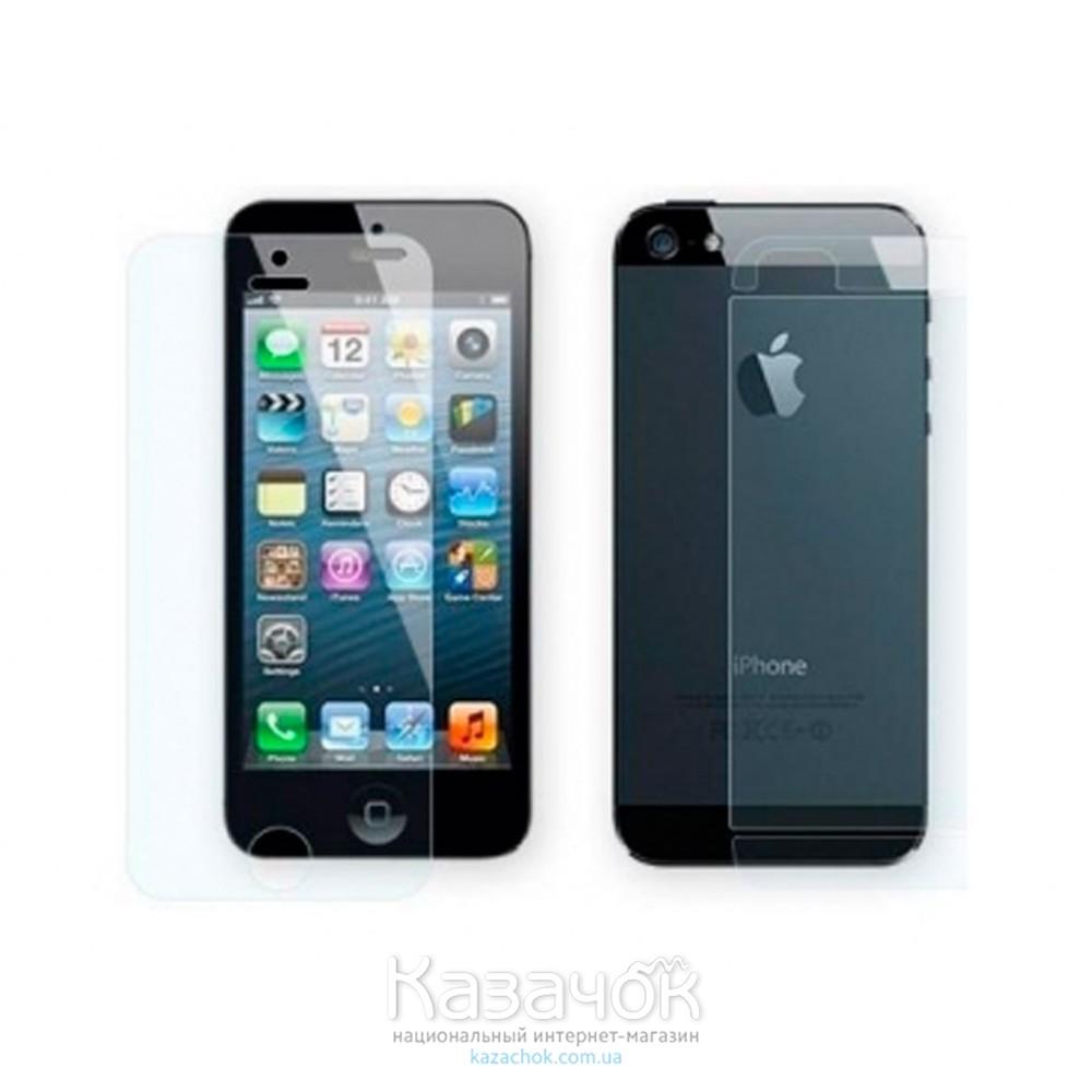 Защитная пленка iPhone 5/5S Front and Back Remax Diamond