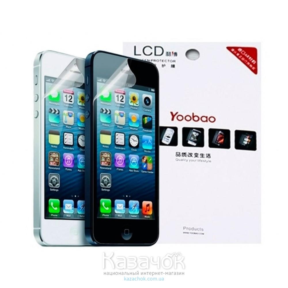 Защитная пленка iPhone 5/5S Yoobao Clear