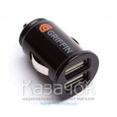 Автомобильное зарядное уcтройство Griffin 2port USB