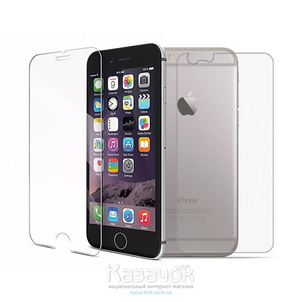Защитное стекло Apple iPhone 4/4S Front and Back