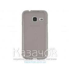 Силиконовая накладка Samsung J1 Mini J105 Remax 0.2 mm Gray
